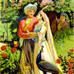 Тахир и Зухра. Сказочник Завонбиби Сарымсакова. Перевела Н. Ярилина