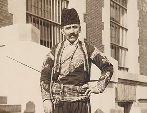 Турк муҳожири Нью-Йоркда (1912 йил)